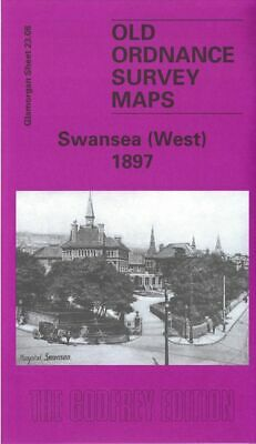 Old Ordnance Survey Map Swansea West 1897 Sketty Townhill St James Church