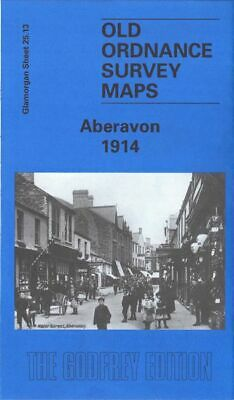 Old Ordnance Survey Map Aberavon 1914 Port Talbot Docks Steelworks Sandfields