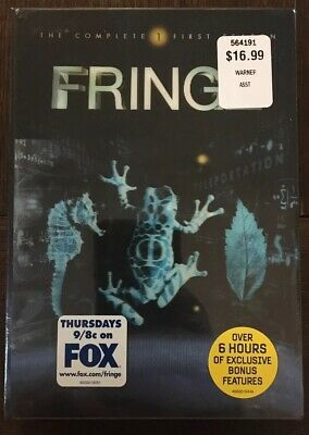 Fringe - The Complete First Season (DVD, 2009, 7-Disc Set) Brand New!!!
