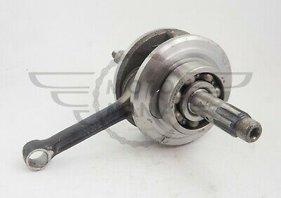 Crank shaft  con rod assembly with bearings upgrade bore Honda Cub C50 C65 C70