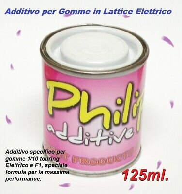 Additivo Additive PHILIP specifico per gomme in lattice for tire 1/10 - 1/8