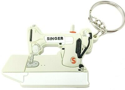 Singer Featherweight  221 Sewing Machine Keychain