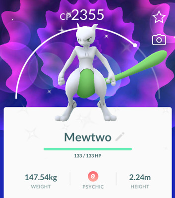 Shiny Mewtwo Guaranteed Raid and Catch Pokemon Go