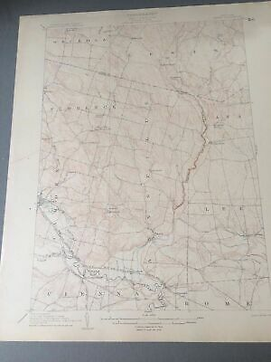 US Geological Survey Topography Map,1905 Quadrangle Taberg - Camden New York
