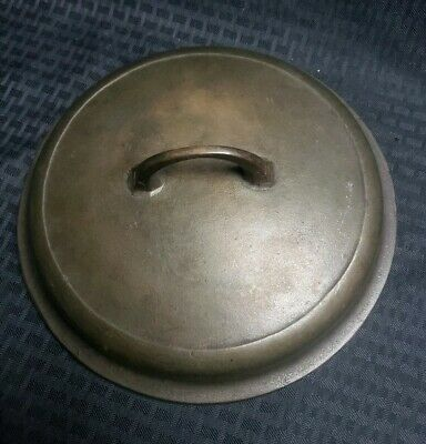 Vintage Antique Griswold cast iron #8 Self Basting 1288 A Dutch Oven Lid .