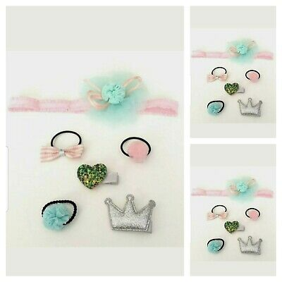 Baby Girls Small  Hair Accessories Bobbles Hair Clips Baby Hairband (SALE)