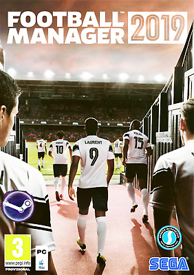 FOOTBALL MANAGER 2019 + FM Touch 19 STEAM MULTILANGUAGE (Free Region)