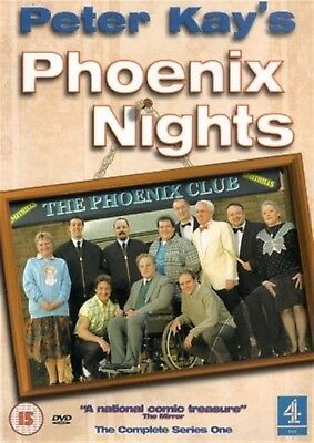PHOENIX NIGHTS COMPLETE SERIES ONE 1 PETER KAY PATRICK McGUINESS UK DVD L NEW