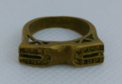 Extremely Rare Ancient Bronze Ring Viking Artifact Bronze Ring Authentic