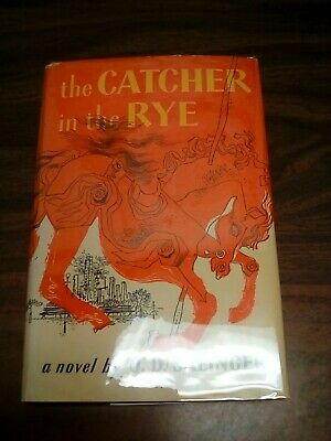 The Catcher in the Rye by J D Salinger Early Book Club Edition