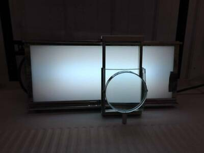 Vintage Dental X-Ray Viewer Illuminator with a Built in Magnifyer