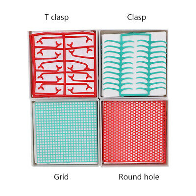 Dental Wax Mesh Net Round Holes Square Grid For Cast Metal Dentist Lab Material