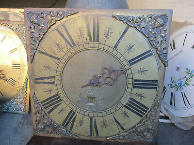 Queen Anne / George 1St  Very Small Longcase Clock Movement Totally Unspoilt