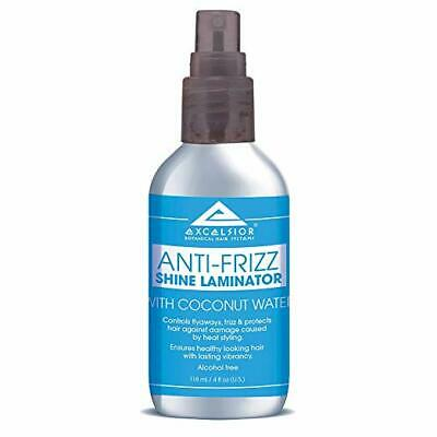 Excelsior ANTI-FRIZZ Spray Shine Laminator Coconut Water & Botanical Oils 118ml