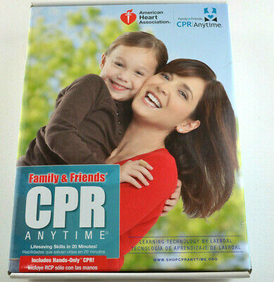 CPR ANYTIME Family & Friends American Heart Association