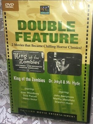 KING OF THE ZOMBIES/DR JEKYLL AND MR HYDE Double Horror Movie Classics
