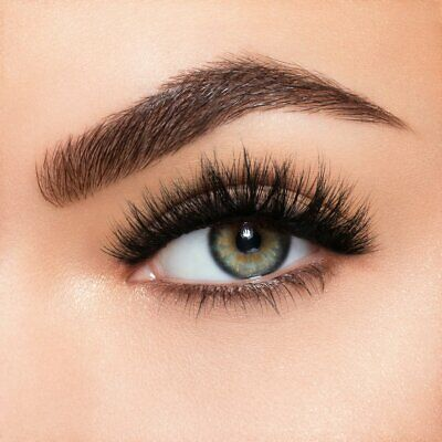 3199ff24742 Lilly Lashes MYKONOS 3D Mink Reusable Flirty Dramatic Glam Black FREE SHIP