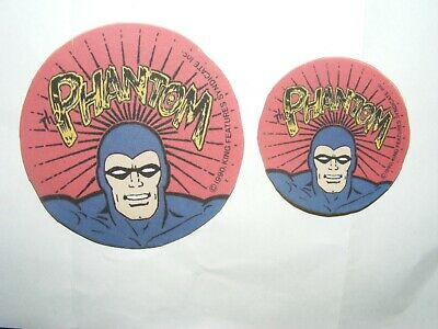 Phantom Comics Version Of The 1990's Show Badge. Sticker Plus Bonus!