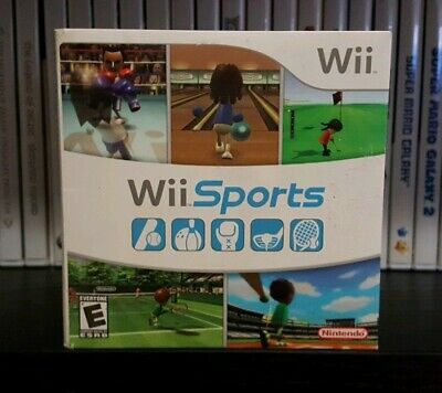 Wii Sports (Nintendo Wii, 2006) SLEEVE AND MANUAL ONLY, GAME NOT INCLUDED