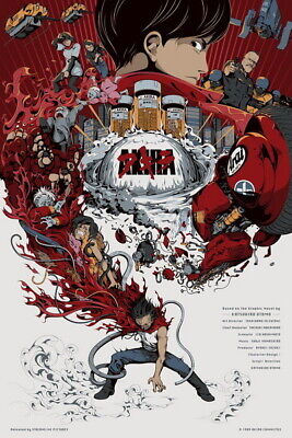 "070 Akira - Red Fighting Hot Japan Anime 2019 Movie 14""x21"" Poster"