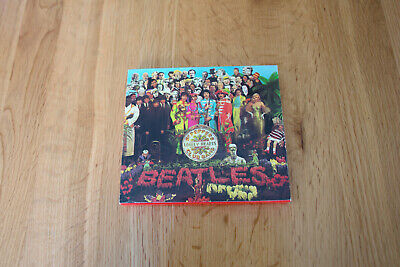 The Beatles - Sgt. Pepper's Lonely Hearts Club Band CD with slipcase