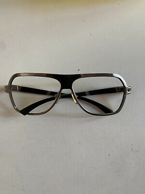 5635c131ed CARTIER VINTAGE SUNGLASSES rare Madison platinum C-decor round ...