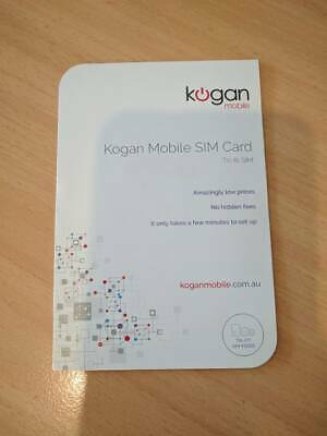 Kogan Mobile SIM Card Only - No Credit/Value
