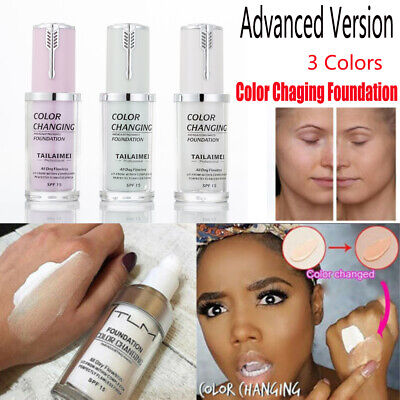 Magic Flawless Color Changing Foundation TLM Makeup Change To Your Skin Tone New