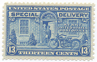 US Scott #E17 Motorcycle 13¢  Blue Special Delivery  MNH  ***FREE SHIP****