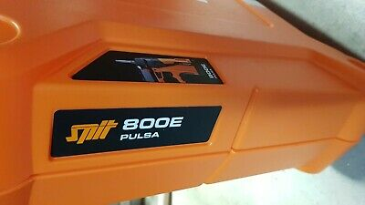 Spit 800E Pulsa Cordless Gas Nailer Inc Case Battery Charger New