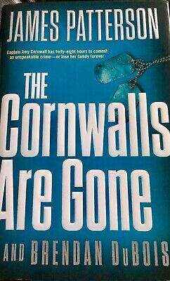 The Cornwalls Are Gone by James Patterson + 2019 HCDJ 1st/1st like new