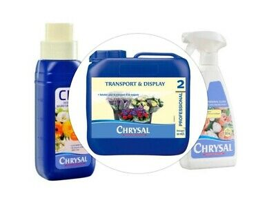 Chrysal Classic Professional 2 Concentrated 5 And 10 Litre Flower  Conditioner