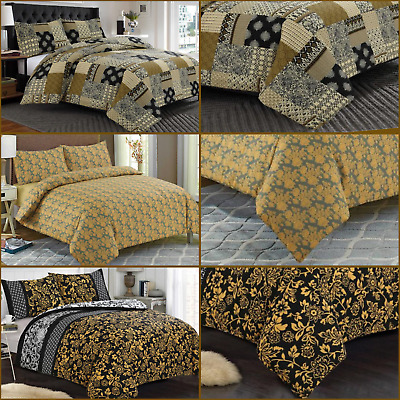 New Luxury 100% Egyptian Cotton Printed Duvet Cover Sets/Quilt Set ALL Sizes