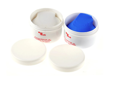 Raytech 250 g Kit Blue Sky Plast 2 Part Mouldable Rubber Putty, Adhesive Heat Sh