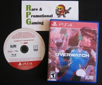 PS4 - Overwatch: Origins Edition - Extremely Rare Press Promo - Fan Artwork