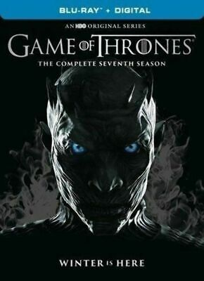 Game of Thrones: The Complete Seventh 7th 7 Season (Blu-ray, Digital) Like New