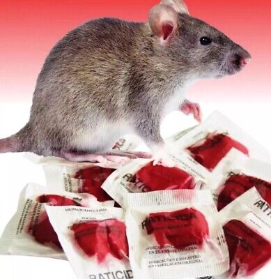 """""""This Stuff Really Works"""" Rat Rodent Mouse Poison 10 Packs 100gms #1 Best Seller"""