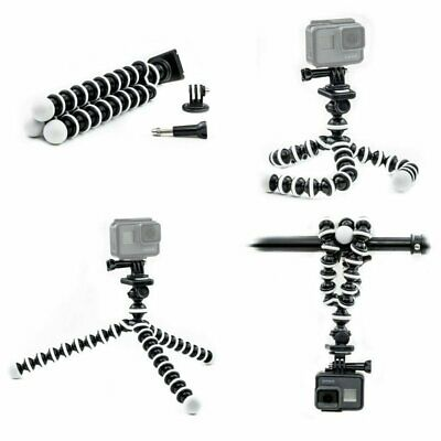 Octopus Flexible Tripod Mount Stand for GoPro Hero 7 6 5 4 3 Action camera Top