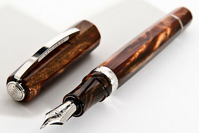 VISCONTI CAMELOT LIMITED Edition Black Fountain Pen 976/999