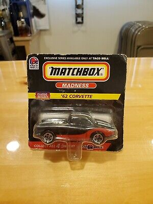Matchbox Madness '62 Corvette  Exclusive Taco Bell