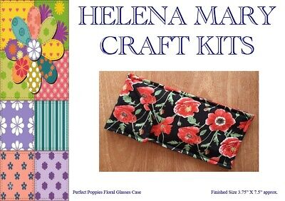 Helena Mary Glasses Case Kit Complete Kit - Perfect Poppies Floral