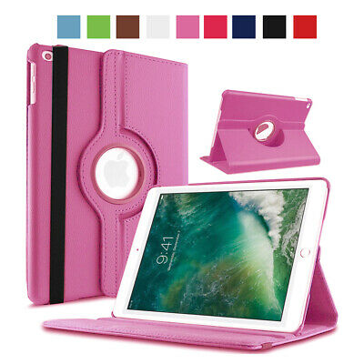 360 Rotating Leather Folio Case Cover Stand For Apple iPad 234 Mini 2 3 4 Air1 2