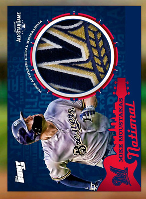 Mike Moustakas-2019 All Star Game-Relic-Base-Topps Bunt 19 2019 Digital