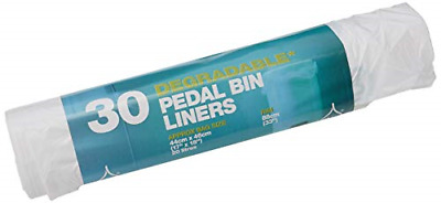 D2W Pedal Bin Liners 30 Bags Pack of 5