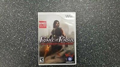 Prince of Persia: The Forgotten Sands (Wii, 2010) CIB Complete in Box