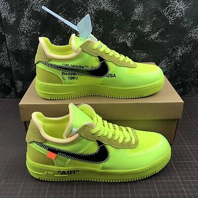 NIKE AIR FORCE 1 X Off White Nuove New Scarpe Shoes Sneakers