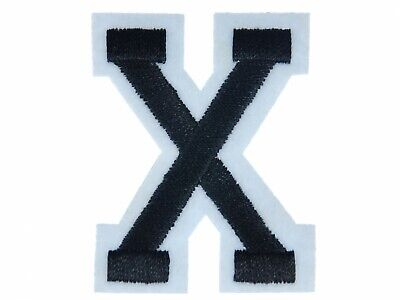 Letters Initials Alphabet Abc Iron-On Patch Patch Miniblings 5cm Letter X