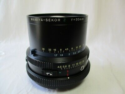 【AS-IS /APPEARANCE MINT】 mamiya sekor Z 50mm f4.5 W/Lens for RZ67  # JT190707-02