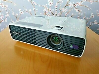 Sony VPL-DX10 portable data video projector 3LCD XGA 2500 lumens with remote