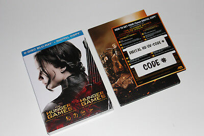 The Hunger Games Complete 4-Film Collection (6-Disc Blu-ray Set)